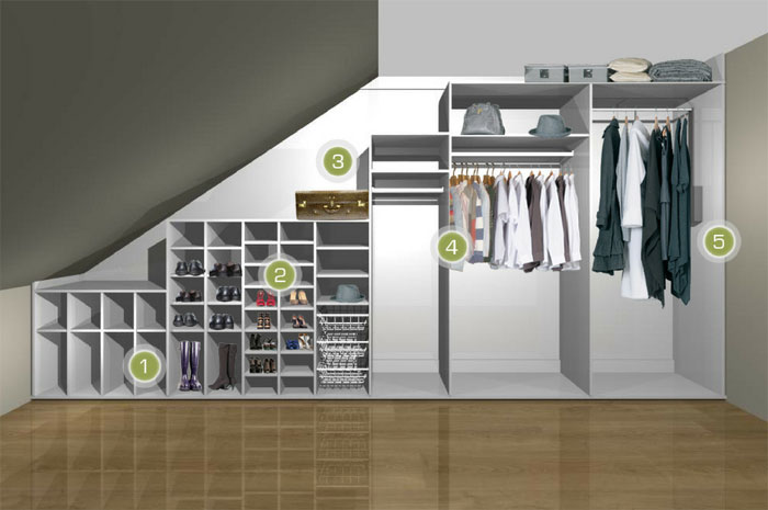 WHAT COULD YOU DO WITH THAT WASTED UNDERSTAIRS STORAGE SPACE?
