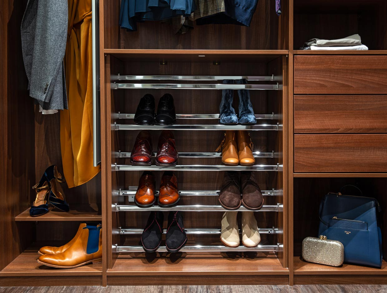 Sophisticated Shoe Storage