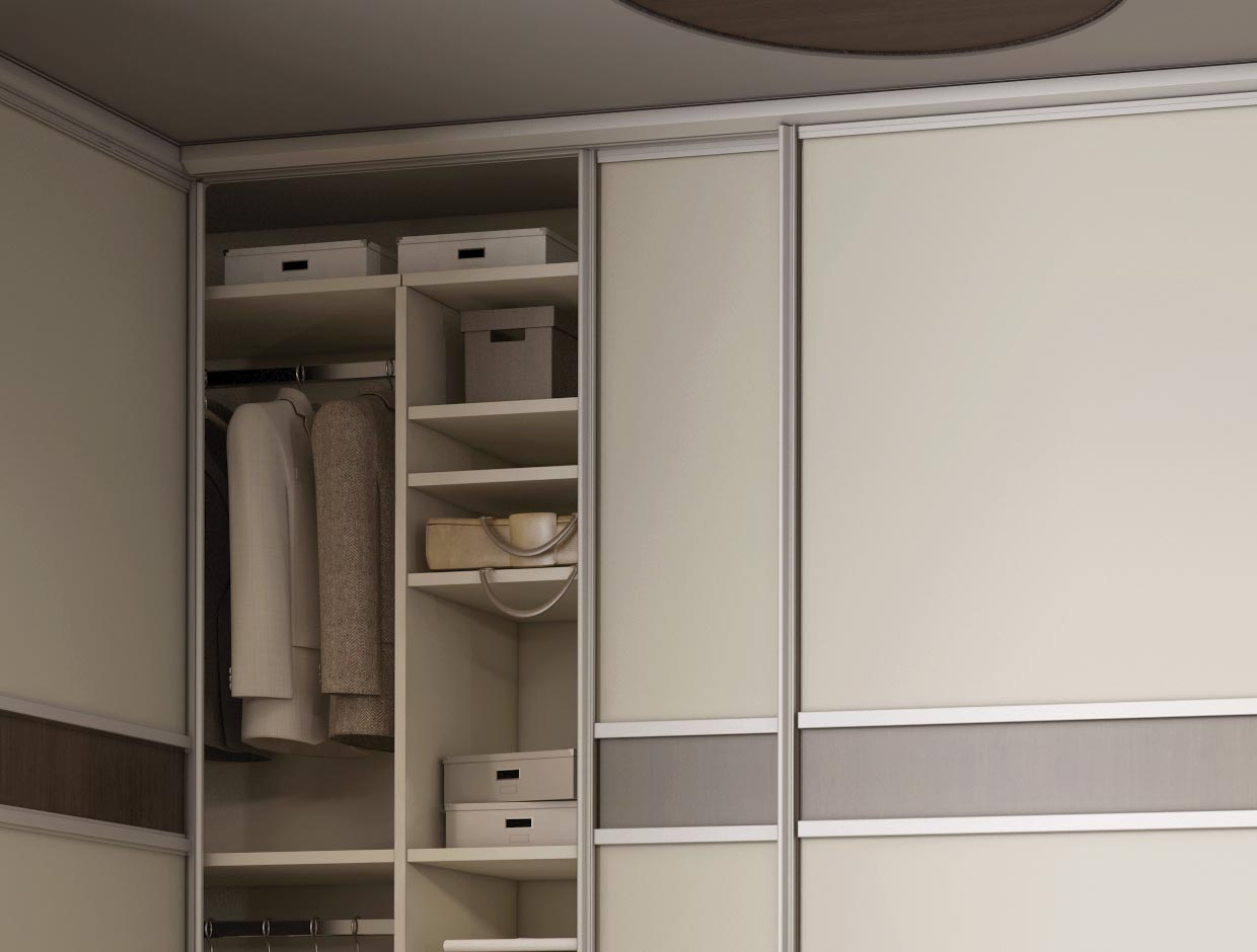 A Better Night's Sleep Fitted Corner Wardrobe